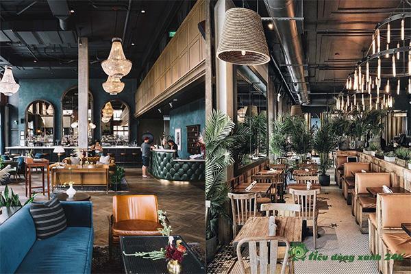 Cách Trang Trí Quán Cafe Trong Nhà-7