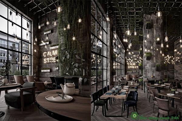 Cách Trang Trí Quán Cafe Trong Nhà-1