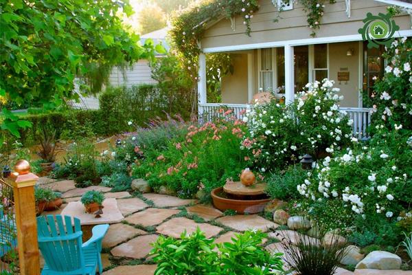 các loại tranh cây cảnh trang trí sân vườn