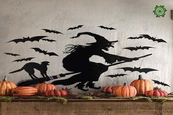 Trang trí halloween cho văn phòng-7