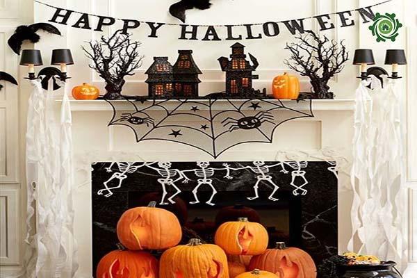 Trang trí halloween cho văn phòng-3
