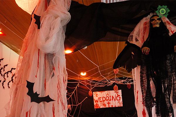 Trang trí halloween cho văn phòng-5