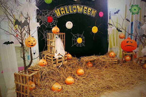 Trang trí halloween cho văn phòng-2