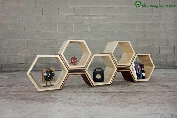 Trang trí phòng làm việc công sở Phụ kiện trang trí thủ công bằng gỗ.