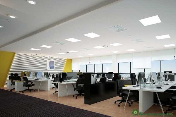 Trang trí phòng làm việc công sở Bố cục của phòng làm việc công sở