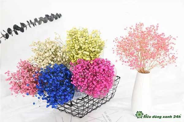 Trang trí phòng làm việc công sở bằng hoa khô