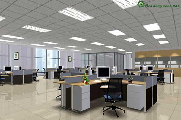 Trang trí phòng làm việc công sở Bố trí nội thất cho không gian văn phòng