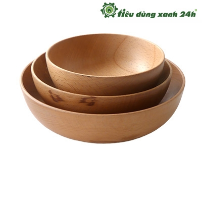 Bộ 3 bát gỗ 3 kích thước - BG01