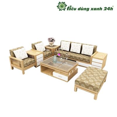 Bàn ghế gỗ xoan đào - Mã BG01