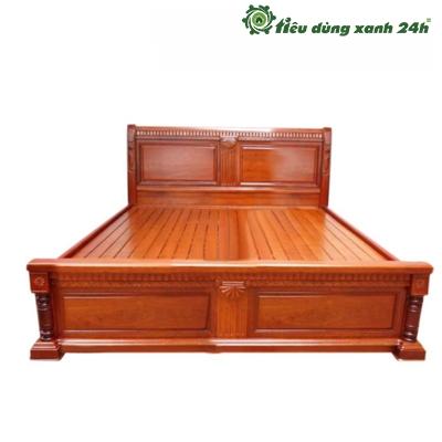Giường ngủ gỗ tự nhiên - G02