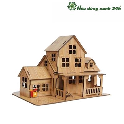 Nhà gỗ mini - Mã DTT08