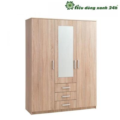 Tủ gỗ công nghiệp phòng ngủ - TPN01
