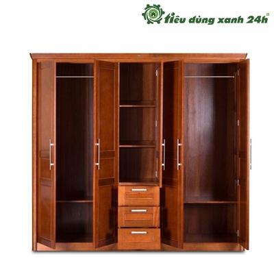 Tủ gỗ còng phòng ngủ- TPN02