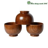 Bát gỗ nguyên khối - Mã BG02