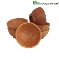 Bát gỗ dừa cách nhiệt - Mã BG03