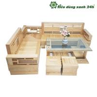 Bộ bàn ghế gỗ sồi ( Vàng gỗ )