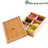Hộp gỗ đựng bánh kẹo - KH03