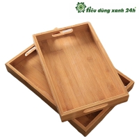 Khay gỗ  quai cầm - Mã KH04