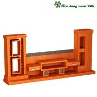 Tủ gỗ phòng khách T-10