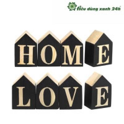 Chữ HOME LOVE - DTT12