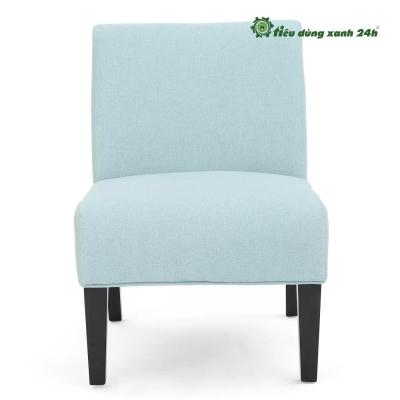 Ghế Kassi Accent ( ghế gỗ bọc đệm) - [32 inch (H) x 22,5 inch (W) x 29,5 inch (D)]