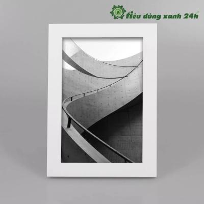 Khung Ảnh Đơn Màu Trắng - KAMT01