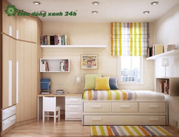 1000+ Cách trang trí phòng ngủ diện tích nhỏ sao cho đẹp