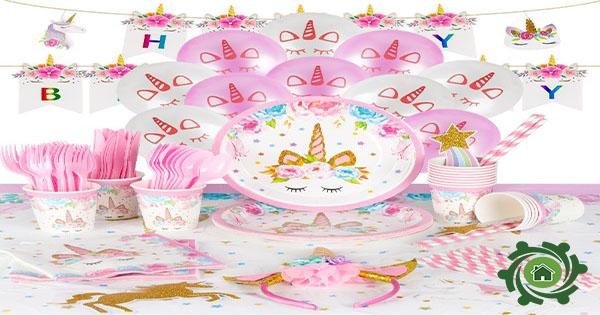 Cách trang trí sinh nhật cho bé gái tại nhà đơn giản