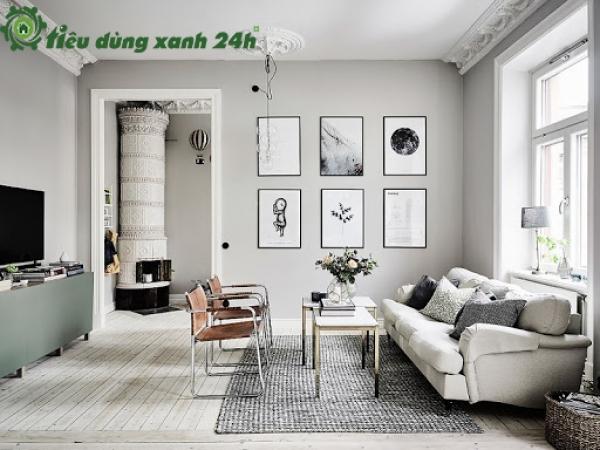 Mách bạn cách trang trí phòng khách nhà cấp 4 đơn giản