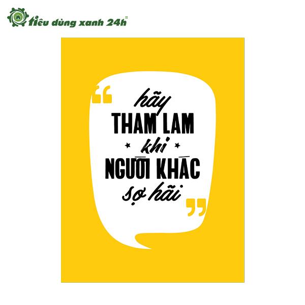 Tranh Slogan TDX1