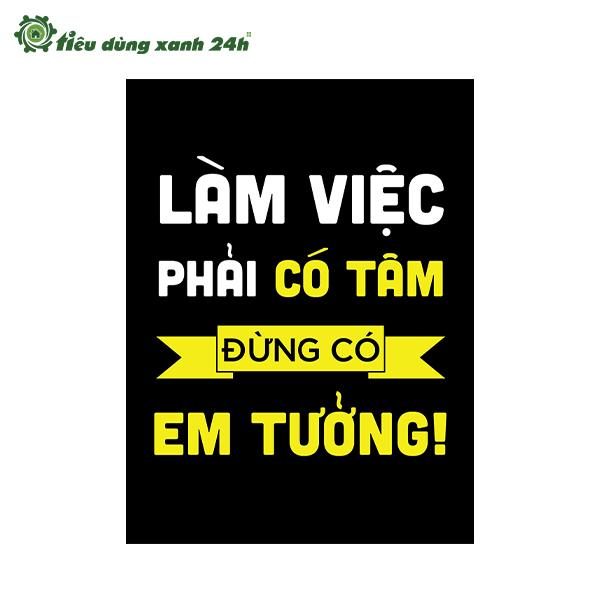 Tranh Slogan TDX5