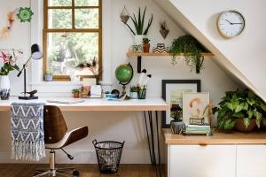 Bố trí văn phòng làm việc nhỏ tại nhà