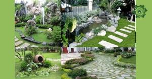 Cách trang trí sân vườn nhà cấp 4 CỰC ĐẸP không thể cưỡng lại