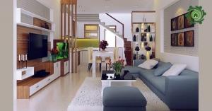 Ý tưởng trang trí phòng khách nhà ống 4m ĐẸP NGẤT NGÂY